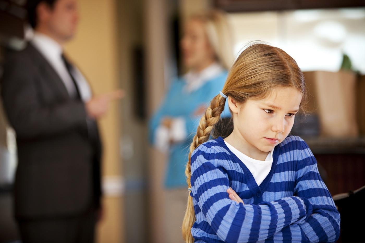 уверен, у кого после развода остаются дети собой, она